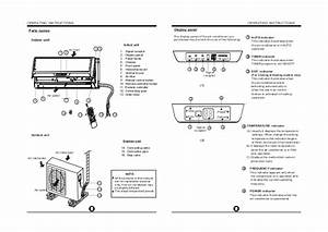 Mistral Split System Air Conditioner Manual