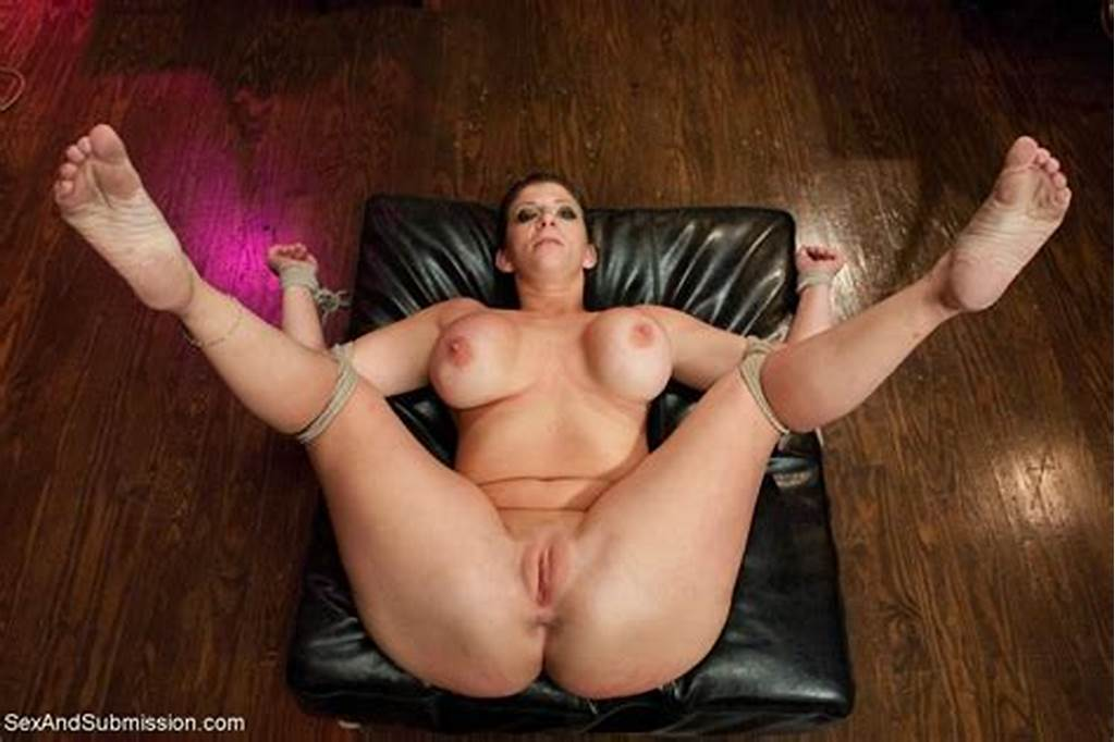 #Hot #Big #Titted #Milf #Gets #Hard #Fucked #In #Tight #Bondage