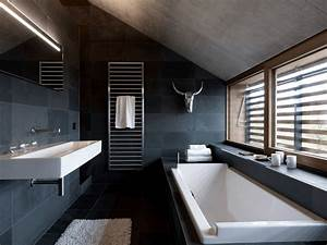 25 examples of minimalism in interior design freshome With salle de bain design avec vasque ceramique noire