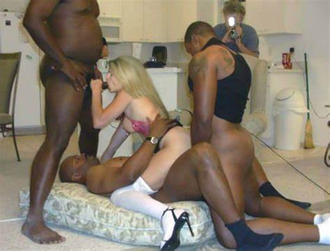 Interracial Gang With American Girls