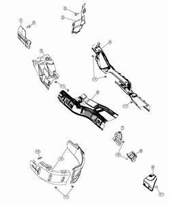 Dodge Durango Shield  Toe Pan  Left  Exhaust  System