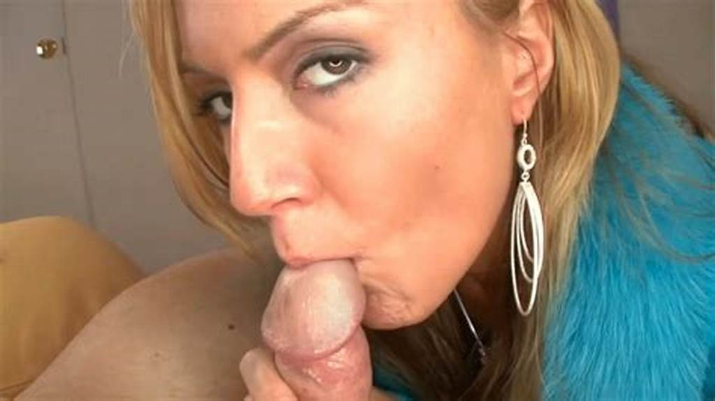 #Blonde #Cum #Swallow
