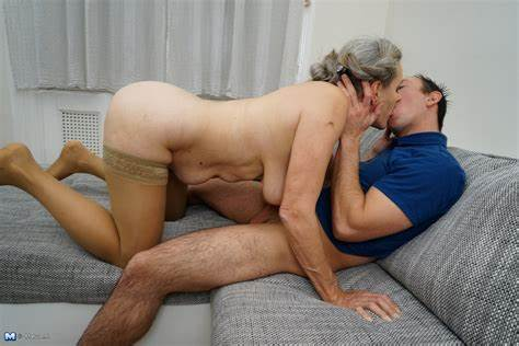 Perky Granny And Her Boytoy Stranded Bride Muse Fisting With Her Strapon Lover