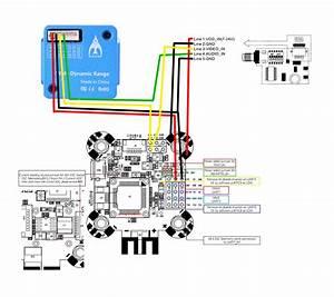 Connexion Vtx Et Cam U00e9ra Sur Airbot Omnibus F4 Pro Corner
