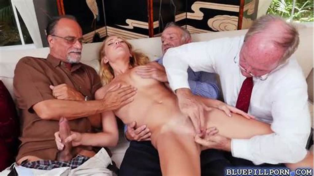 #Old #And #Young #Gangbang #With #Raylin #Ann