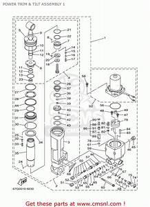 Yamaha F80  F100tlry 2000 Power Trim  U0026 Tilt Assembly 1