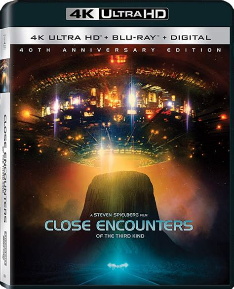 Close Encounters: 40th official for BD/4K plus Baywatch