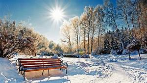 Sonne Im Winter : 1920x1080 winter snow sun bench 1080p full hd wallpapers ~ Lizthompson.info Haus und Dekorationen