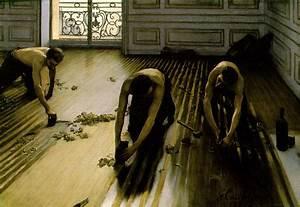 Webmuseum caillebotte gustave les raboteurs de parquet for Gustave caillebotte les raboteurs de parquet 1875