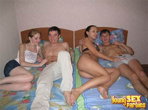 Spunky Foursome With Teenager Sluts #Gilso #Party #Real #Group #Sex #Madness