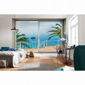 komar tranquillo wall mural xxl4 050 the home depot With balkon teppich mit komar tapeten