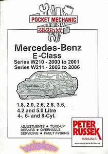 Shop Manual Mercedes Service Repair Book E Class W210 W211
