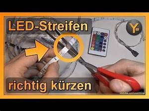 Led Streifen Kürzen : led streifen richtig k rzen abschneiden youtube ~ Watch28wear.com Haus und Dekorationen