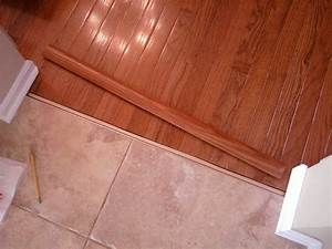 wood floor to tile transition strips floor matttroy With parquet piece humide