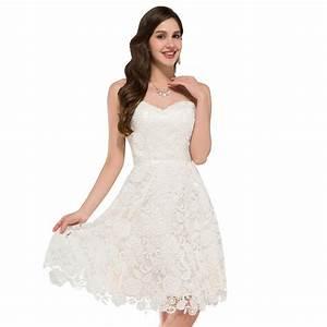 ivory vintage lace short wedding dress beach style With de robe de mariée