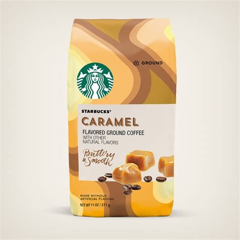 Every sip is smooth and filled with flavors that mingle perfectly together. Caramel Flavored Coffee | Starbucks® Coffee At Home