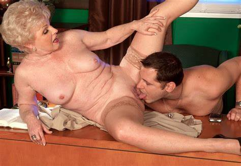 Perverted Granny Is Lick