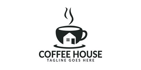 Launch a logo design contest today. Coffee House Logo Design by IKAlvi | Codester