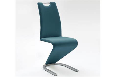 Chaises salle à manger design lot de 4 (gris) opus. Chaises Design Simili Cuir pas Cher - Novomeuble