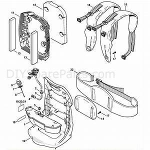 Stihl Br 500 Backpack Blower  Br 500  Parts Diagram  Fuel Tank