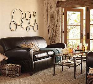 living room living room decorating ideas with dark brown With interior decor brown living room