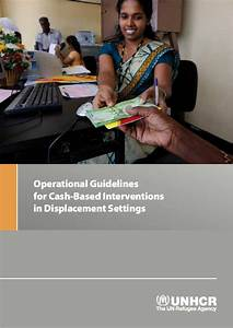 Operational Guidelines For Cash