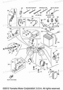 Yamaha Atv 2006 Oem Parts Diagram For Electrical
