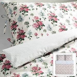Ikea Bettwäsche Rosen : ikea emmie s t romantik rosen rosali wende bettw sche set garnitur 240x220 cm ~ A.2002-acura-tl-radio.info Haus und Dekorationen
