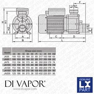 Lx Ja50 Pump 0 5 Hp