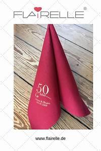 Servietten Bedrucken Hochzeit : individuell bedruckte servietten zur goldenen hochzeit gestaltet die servietten servietten ~ Watch28wear.com Haus und Dekorationen