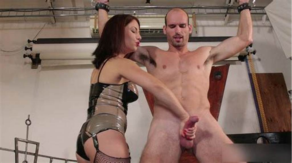 #Ruined #Orgasms #And #Milking #My #Slave`S #Swollen #Sore #Cock