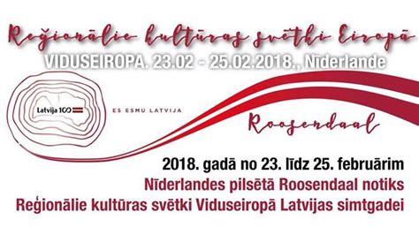 Piesakies par palīgu kultūras svētkos - Latvieši NL