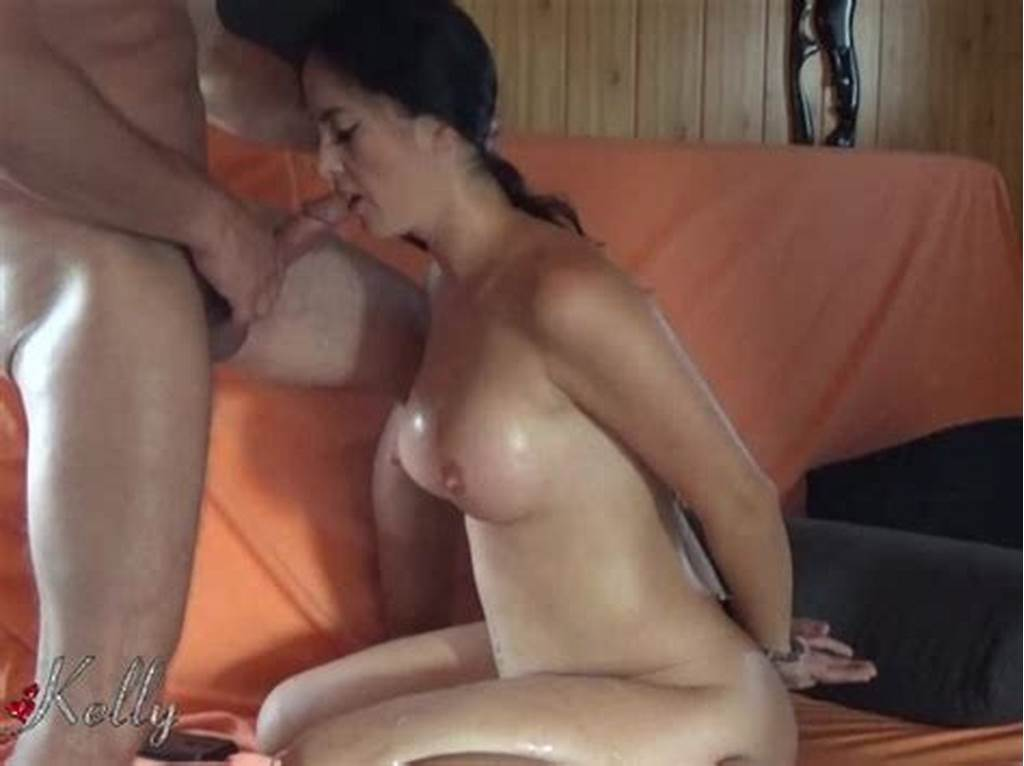 #Fucking #My #Slutty #Wife #Throat #While #Being #Cuffed #And