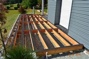 Terrasse Bois Sur Plot Beton : terrasse bois sur plot ~ Premium-room.com Idées de Décoration