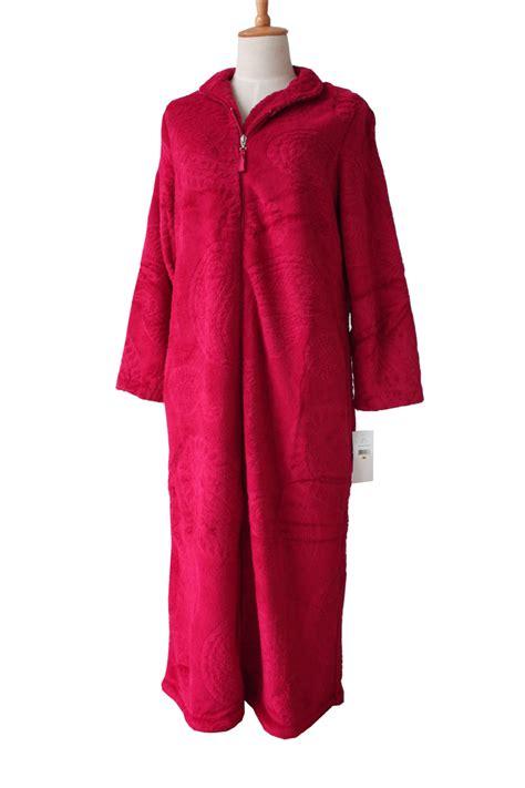 femme de chambre chaude european style zipper coral velvet