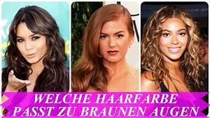 Welche Wandfarbe Passt Zu Nussbaum : welche haarfarbe passt zu braunen augen youtube ~ Watch28wear.com Haus und Dekorationen