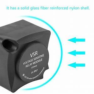 Voltage Sensitive Relay Smart Vsr Automatic Charge 12v