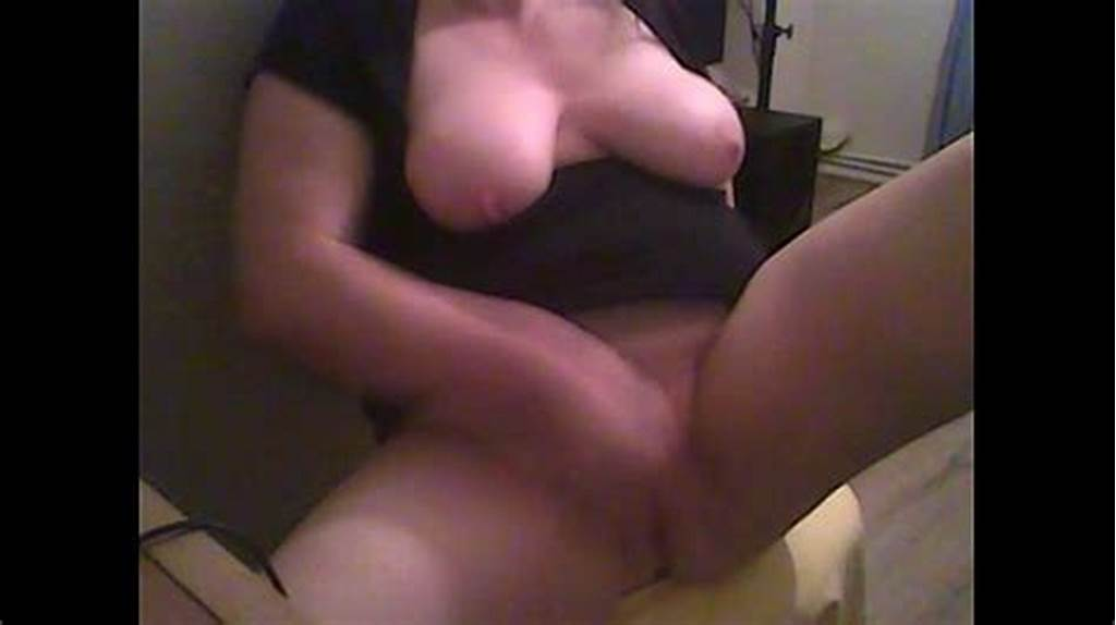 #Chubby #Girlfriend #Tugging #On #Her #Huge #Clit