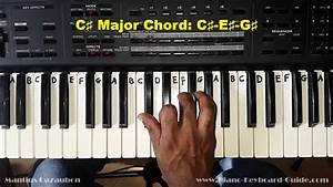 C How To : how to play the c sharp major chord c on piano and ~ A.2002-acura-tl-radio.info Haus und Dekorationen