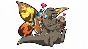 Mothra and Godzilla by Zedrin on DeviantArt