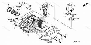 Honda Motorcycle 2010 Oem Parts Diagram For Air Cleaner