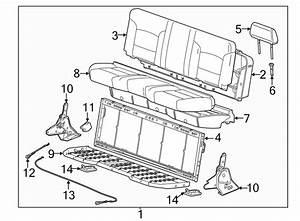 Chevrolet Silverado 2500 Hd Seat Cover  Lower   Full Bench