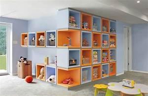 Rangement Chambre Enfant : chambre enfants design feria ~ Teatrodelosmanantiales.com Idées de Décoration