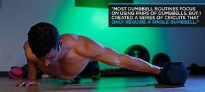 3 Dynamite Workouts You Can Perform With A Single Dumbbell