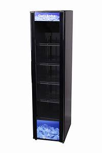 Kühlschrank Mit Eiswürfelspender Schmal : schmaler schwarzer getr nkek hlschrank mit glast r ~ A.2002-acura-tl-radio.info Haus und Dekorationen