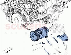 Ferrari 488 Spider Ac System Compressor Parts