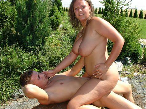 Charming Nudist Girl Outdoors