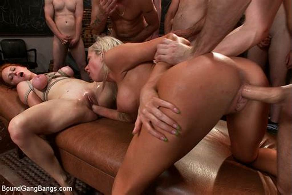 #A #Lot #Of #Slave #Bdsm #Babes #On #A #Party