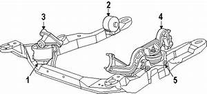 Ford Taurus Front Mount  Isolator  3 0 Liter Dohc  Front