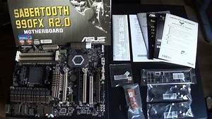 Unboxing  Asus Sabertooth 990fx R2 0 Am3  Amd Motherboard